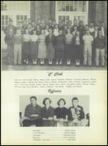 1953 Commerce High School Yearbook Page 70 & 71