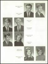 1967 Skaneateles Central High School Yearbook Page 46 & 47
