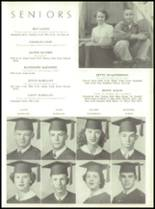 1954 Tift County High School Yearbook Page 32 & 33