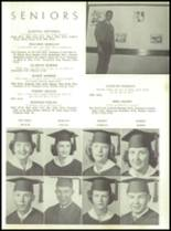 1954 Tift County High School Yearbook Page 34 & 35
