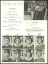 1954 Tift County High School Yearbook Page 36 & 37