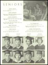 1954 Tift County High School Yearbook Page 42 & 43