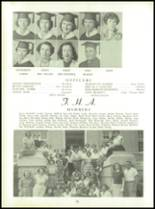 1954 Tift County High School Yearbook Page 82 & 83