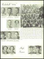 1954 Tift County High School Yearbook Page 112 & 113