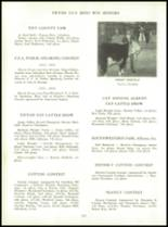1954 Tift County High School Yearbook Page 132 & 133