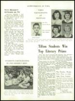 1954 Tift County High School Yearbook Page 134 & 135