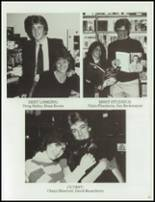 1984 Central High School Yearbook Page 70 & 71