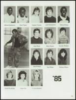 1984 Central High School Yearbook Page 108 & 109