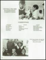 1984 Central High School Yearbook Page 140 & 141