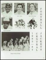 1984 Central High School Yearbook Page 156 & 157