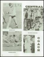 1984 Central High School Yearbook Page 164 & 165