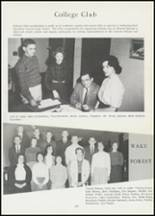 1962 Mineral Springs High School Yearbook Page 132 & 133