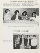 1969 James Whitcomb Riley High School Yearbook Page 100 & 101