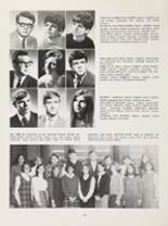 1969 James Whitcomb Riley High School Yearbook Page 166 & 167