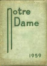 1959 Yearbook Notre Dame High School