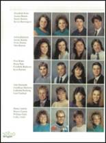 1990 Mooresville High School Yearbook Page 54 & 55