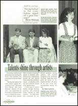 1990 Mooresville High School Yearbook Page 150 & 151