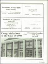 1990 Mooresville High School Yearbook Page 176 & 177