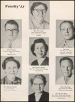 1955 Hillsboro High School Yearbook Page 28 & 29