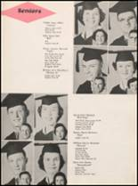 1955 Hillsboro High School Yearbook Page 32 & 33