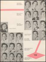 1955 Hillsboro High School Yearbook Page 56 & 57