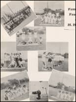 1955 Hillsboro High School Yearbook Page 106 & 107