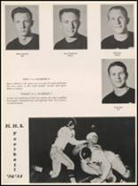 1955 Hillsboro High School Yearbook Page 118 & 119