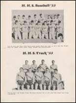 1955 Hillsboro High School Yearbook Page 132 & 133