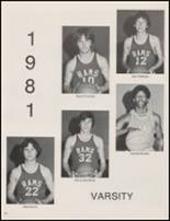 1981 Mineral Wells High School Yearbook Page 106 & 107