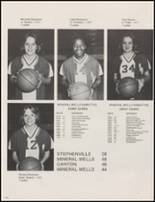 1981 Mineral Wells High School Yearbook Page 120 & 121