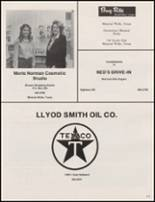 1981 Mineral Wells High School Yearbook Page 216 & 217