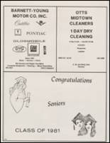 1981 Mineral Wells High School Yearbook Page 242 & 243