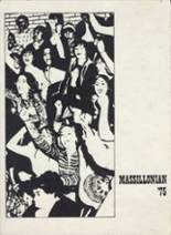 1975 Yearbook Washington High School
