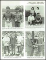 1985 Westmont Hilltop High School Yearbook Page 142 & 143