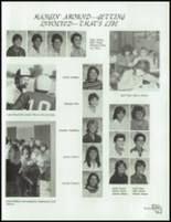 1984 Lemoore High School Yearbook Page 100 & 101
