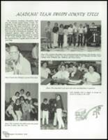 1984 Lemoore High School Yearbook Page 108 & 109