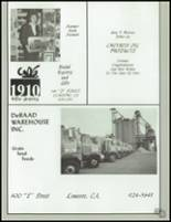 1984 Lemoore High School Yearbook Page 230 & 231