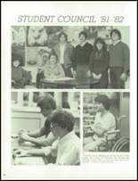 1982 Hot Springs High School Yearbook Page 110 & 111