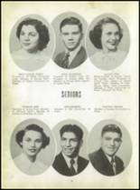 1950 Carroll High School Yearbook Page 22 & 23