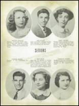 1950 Carroll High School Yearbook Page 28 & 29