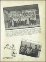 1950 Carroll High School Yearbook Page 34 & 35