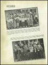 1950 Carroll High School Yearbook Page 36 & 37