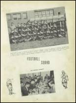 1950 Carroll High School Yearbook Page 56 & 57