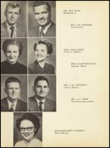 1952 Clyde High School Yearbook Page 14 & 15