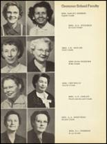 1952 Clyde High School Yearbook Page 16 & 17