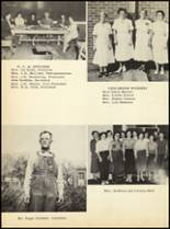 1952 Clyde High School Yearbook Page 18 & 19