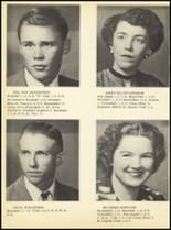 1952 Clyde High School Yearbook Page 22 & 23