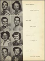 1952 Clyde High School Yearbook Page 36 & 37