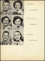 1952 Clyde High School Yearbook Page 38 & 39