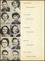 1952 Clyde High School Yearbook Page 42 & 43
